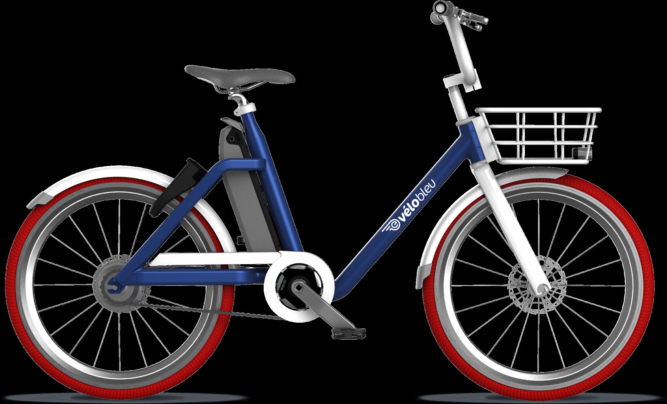 je veux un e-vélobleu